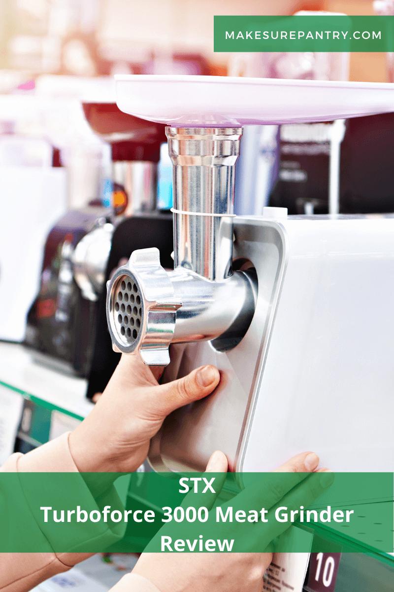 STX Turboforce 3000 Meat Grinder