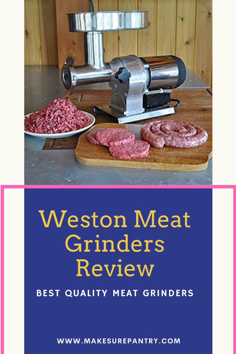 weston meat grinders