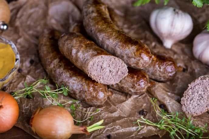 How long do you cook deer sausage